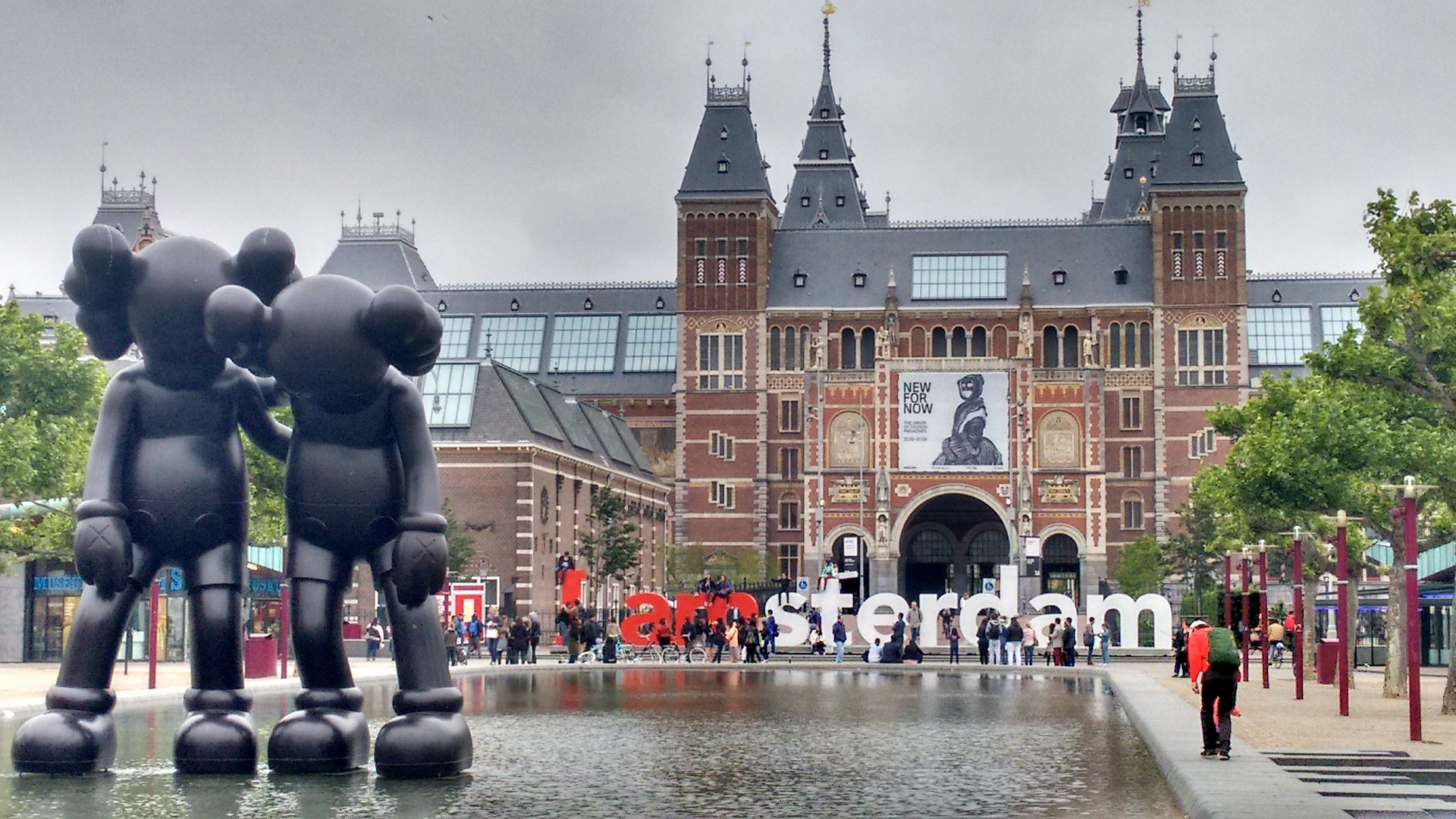 Bild eines Gebäudes aus Amsterdam