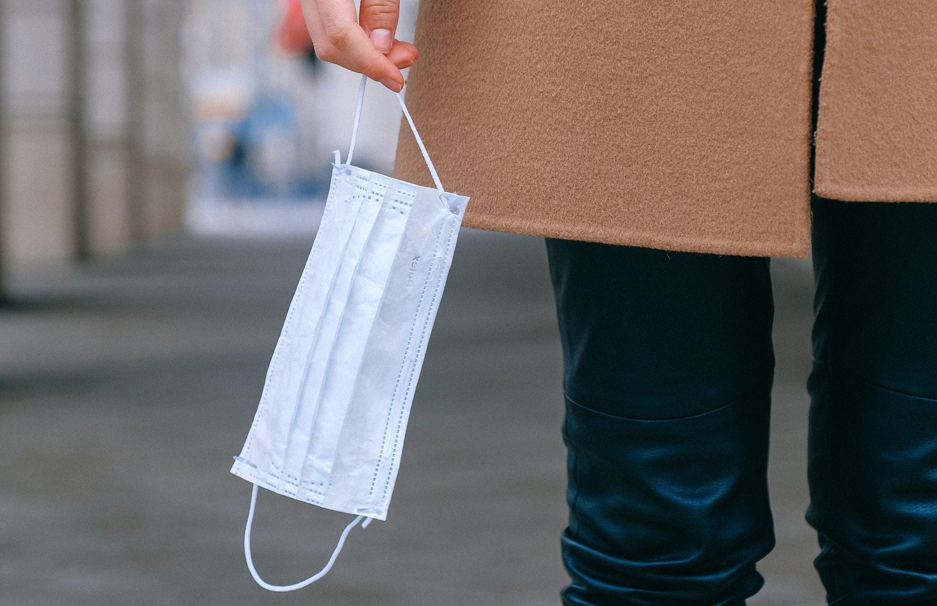 Bild einer Atemschutzmaske